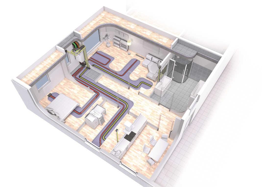 kontrollierte Wohnraumlüftung HDG Installationstechnik GmbH