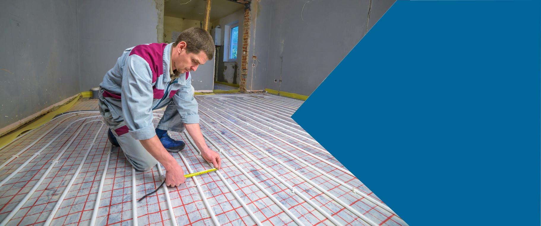 Fußbodenheizung HDG Installationstechnik